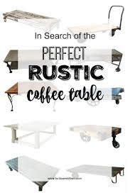 are you searching for the perfect rustic coffee table one with some age a
