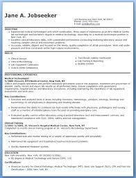 Medical Technician Cover Letter Sarahepps Com