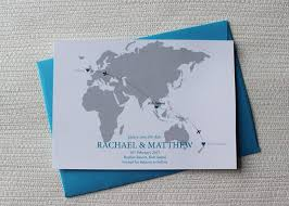 Save The Dates Wedding World Map Save The Date For A Destination Wedding Be My Guest