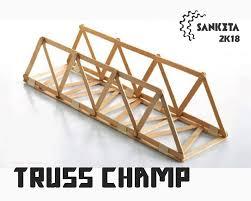 Popsicle Stick Bridge Designs Truss Champ