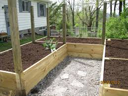 Small Picture Simple Enclosed Vegetable Garden Design Proof Raised Beds P In