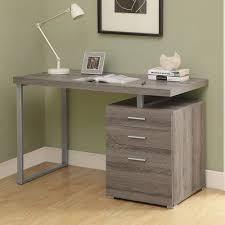 gray writing desks for small spaces