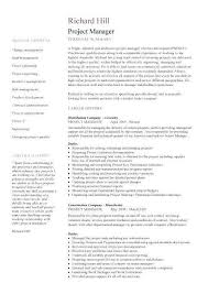 Construction Project Manager Resume Examples Impressive 48 Best Of Construction Project Manager Resume Examples Pics