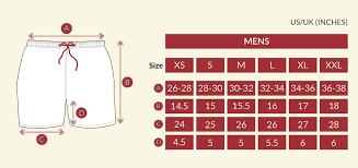B Swim Size Chart