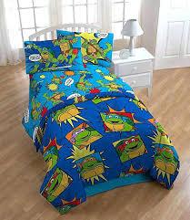 Turtle Bedding Set Ninja Turtle Bed Sheets Teenage Mutant Ninja ...
