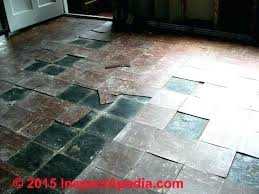 how to identify asbestos tile how to identify asbestos tile flooring hazard levels asbestos floor tile