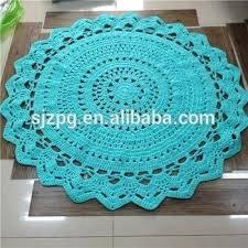 crochet round floor porch nursery baby rug inside rugs decor circle rag pattern free rag rugs crochet circle rug circular pattern