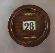 edwardian office wall mounted perpetual calendar c1910 desk calendars office calendar edwardian