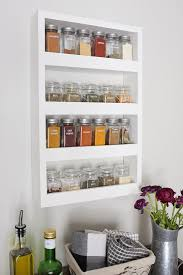 How To Build A Spice Rack Interesting DIY Wall Spice Rack Angela Marie Made