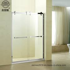 china stainless steel shower room 8mm tempered glass shower enclosure whole custom shower room glass screen for bath sliding door china shower room