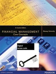 Access Financial Management Financial Management Core Concepts Custom Edition Vitalsource