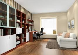 study room furniture design. Danish Minimalist Study Room Interior Layout 3d House Furniture Design