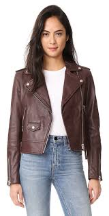here s where to get meghan markle s wine colored leather jacket brit co