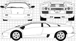 The-Blueprints.com - Blueprints > Cars > Lamborghini > Lamborghini ...
