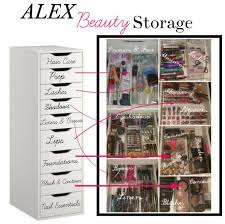 makeup organizer ideas ikea. bathroom remodeling ideas - ikea alex. organizing your make up makeup organizer  