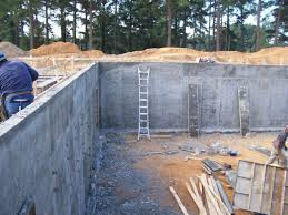 Small Picture Backyard Design Reinforced Concrete Basement Wall Shotcrete And