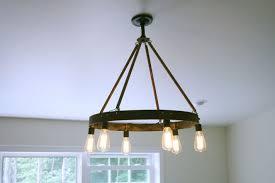 edison bulb pendant lighting. Innovative Bourbon Barrel Ring Featuring Edison Bulb By Anna Rachocki Lamps Pendant Chandeliers Chandelier Light Fixture Lighting
