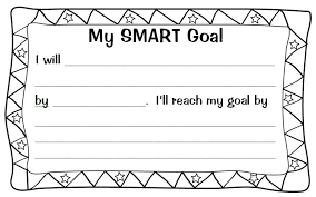 Smart Goals Template Setting Almost Smart Goals With My Students Scholastic