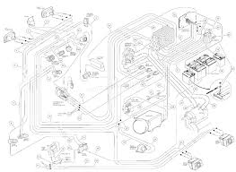 Club car ds wiring diagram volt electric iq 2002 battery cable 1997 48v 1224