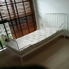 Ikea Extendable Bed Frame, Furniture, Beds & Mattresses on Carousell