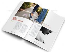 Node Minimalist Magazine Design Template Layout