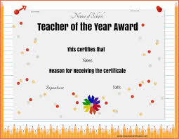 free templates for certificates of appreciation fresh teacher appreciation certificate templates free showing