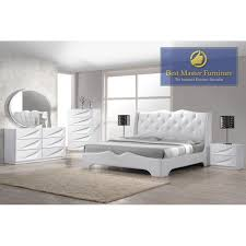 Bedroom sets offer peace of mind when it comes to decorating because you're guaranteed every piece of furniture will match—a matching bed with headboard,. Madrid Bedroom Best Master Furniture Bedroom Set Eastern King Bed Color Off White