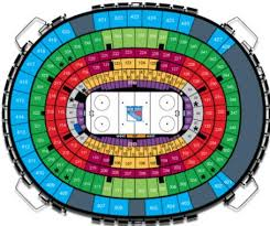 Msg Nhl Seating Chart Madison Square Garden Hockey Seating Chart Growswedes Com