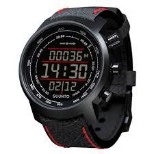 Наручные <b>часы SUUNTO Elementum</b> Terra Black/Red leather