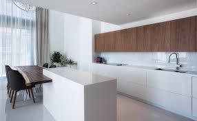White Laminate Kitchen Cabinets White And Brown Kitchen Cabinets Outofhome