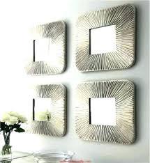 mirror wall sets wall decor sets small decorative wall mirror sets with set three mirrors mirror wall decor set
