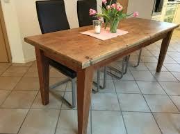 Beautiful Tisch Esstisch Holz Holztisch Esszimmer Küchentisch 200 X 70 Cm In Overath