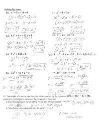 math factoring quadratic equations worksheet algebra i help