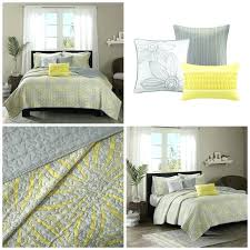Modern Quilts And Bedspreads Modern Quilts And Coverlets ... & ... Contemporary Quilts And Coverlets Modern Quilts And Bedspreads King  Size Yellow Gray Floral Quilt Coverlet Bedding ... Adamdwight.com