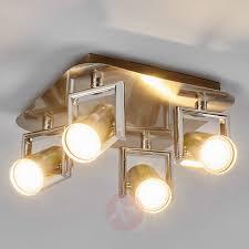 kitchen spotlight lighting. Nickel Luciana LED Kitchen Spotlight, 4-fl.-9975027-31 Spotlight Lighting H