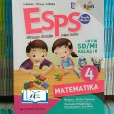 Di kelas 5 semester 1, terdapat 5 tema yang harus dipelajari oleh siswa. Jual Unik Buku Esps Matematika Kelas 4 Sd Mi Diskon Jakarta Barat Nuris 03 Tokopedia