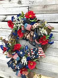 patriotic wreaths for front doorDiy Front Door Wreaths For Summer Outstanding Berry Wreath Uk