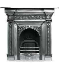 Cast Iron Fireplaces  Fairburn 36 Full Polished Cast Iron FireplaceCast Fireplaces