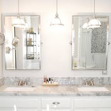 pendant lights over bathroom vanity