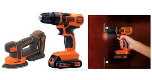 black decker cordless drill. right now walmart has a great deal on the black+decker max cordless drill \u0026 mouse sander kit! get it for $39.98 (regularly $74.99). black decker h