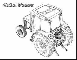 Kleurplaat Trekker John Deere Beforeroomsite