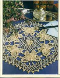 Oval Crochet Doily Patterns Free Simple Doilies And Tableclothrhpinterestcom Linda Oval Crochet Doily