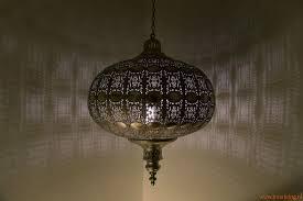 Tafellamp Koperen Oosterse Lamp Lampenkap Koper Filigrain In Zwart