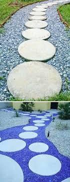 round garden stepping stones hard rock stepping stone 9 garden stepping stones