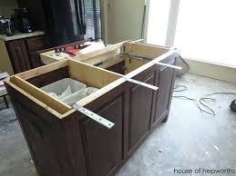 wood countertop brackets decorative the making of a kitchen island