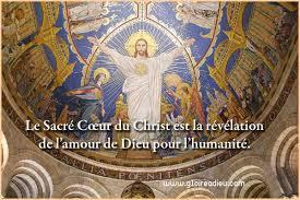 Le Sacré Cœur du Christ est la révélation de l'amour de Dieu pour  l'humanité. – GloireADieu.com