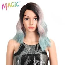 """<b>Magic Hair</b> 20""""Inch Synthetic Lace Front <b>Wigs Straight</b> Middle Part ..."""