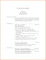 Resume Simple Objectivesreference Letters Words Simple Resume