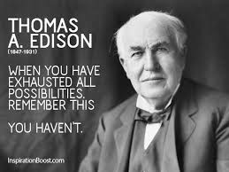 Thomas Edison Quotes Custom Thomas Edison Never Give Up Quotes Inspiration Boost