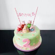 Birthday Cake Pig Design